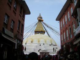 The stupa of Boudhanath
