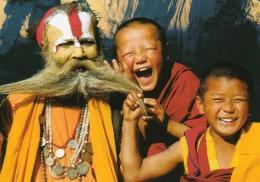 Pashupatinath saddhu and monks